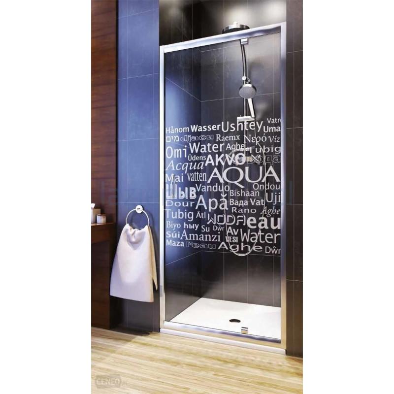 aquaform Душевая дверь Aquaform Nigra Aqua 80 (103-40080)