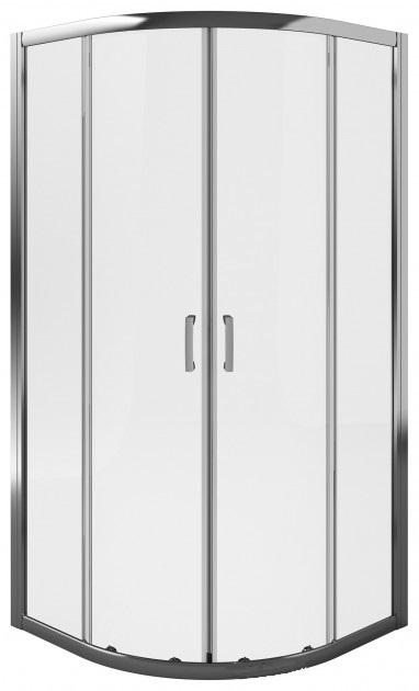 Душевая кабина Koller Pool LLR2/900 Silver + поддон Grace или Round 900 + сифон A49CR