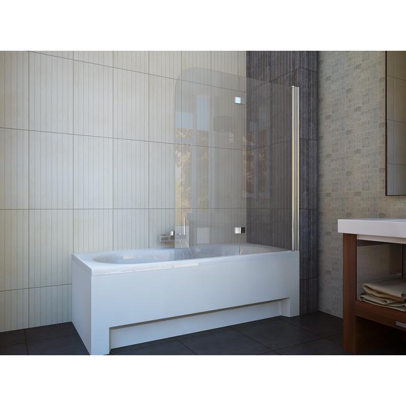 Шторка для ванны  Koller Pool QP97 Clear R