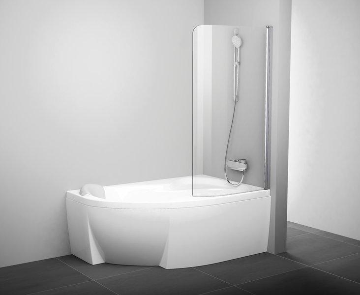 Шторкa для ванны Ravak CVSK1 ROSA 160/170 R (7QRS0U00Y1)