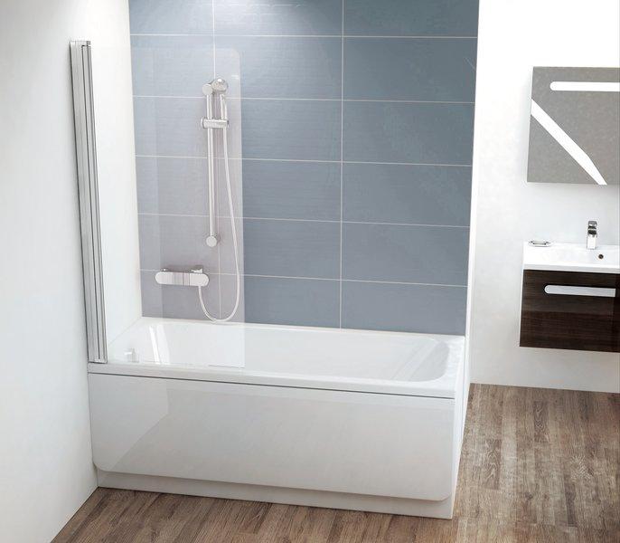 Шторкa для ванны Ravak CVS1 -80 L (7QL40100Z1)