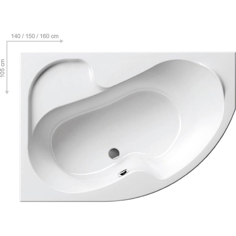 Ванна Ravak Rosa I R 150X105 (Cj01000000)