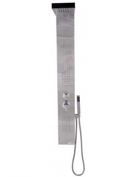 Гидромассажная панель AquaStream 107 хром