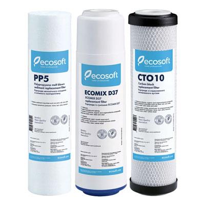 Комплект картриджей Ecosoft (CMV3ECO)