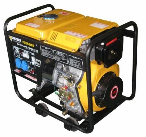 Дизельный генератор Forte FGD6500E (43690)
