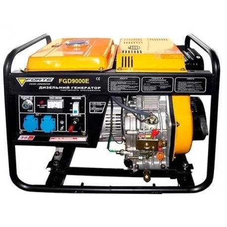 Дизельный генератор Forte FGD9000E (63492)
