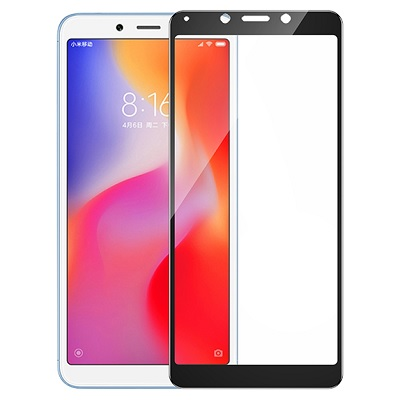 Стекло T-Phox Xiaomi Redmi 6 CP+ Full Glue black