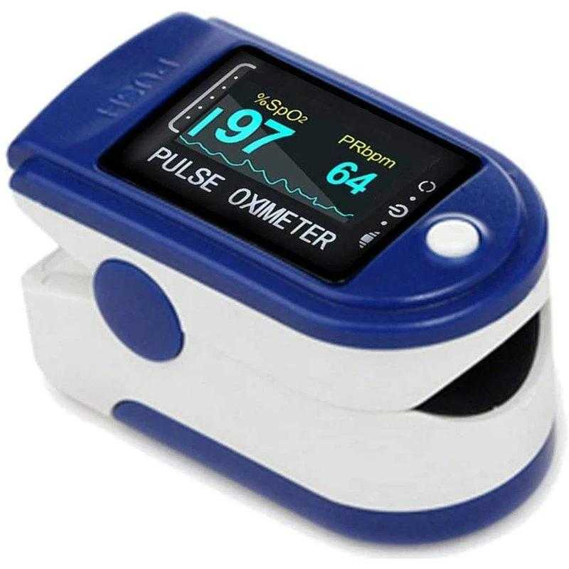 Пульсоксиметр GrowWin Pulse Oximeter LK88 Blue