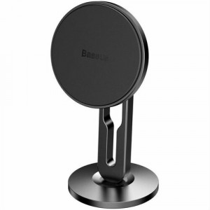 Автодержатель Baseus Hollow Magnetic Car Mount Vertical Type black