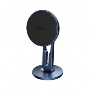 Автодержатель Baseus Hollow Magnetic Car Mount Vertical Type blue
