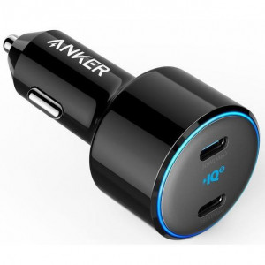 АЗУ ANKER PowerDrive+ III Duo - 30W PD + 18W USB-C black