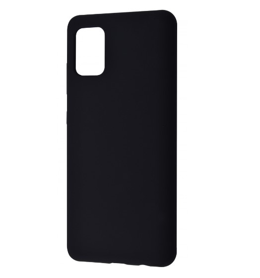 Чехол WAVE Full Silicone Cover Samsung Galaxy S21 Plus black