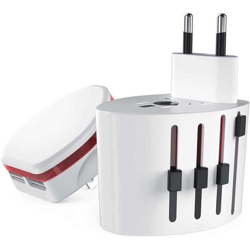 Универсальный дорожный адаптер Bearware World Travel Adapter