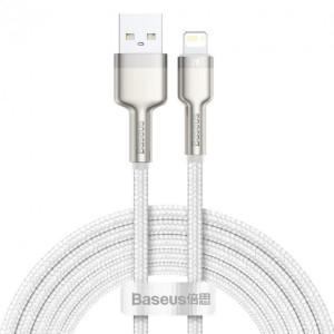 Кабель Baseus Cafule Lightning 2.4A (2m) white