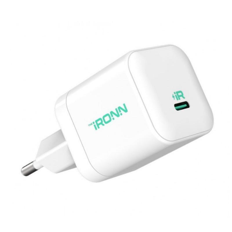 Сетевое зарядное устройство iRONN IR2010N 20W Type-C white