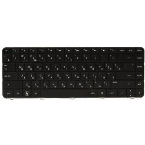 Клавиатура для ноутбука HP 250 G4, 255 G4, 256 G4 черный, черный фрейм