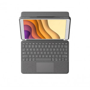 Чехол-клавиатура для планшета Logitech Combo Touch Keyboard with Trackpad iPad 10.2 2019-2020/iPad Air 2019/Pro 10.5 Graphite 920-009608