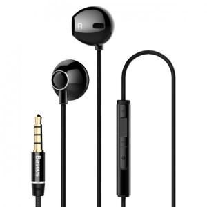 Наушники с микрофоном Baseus Encok H06 black