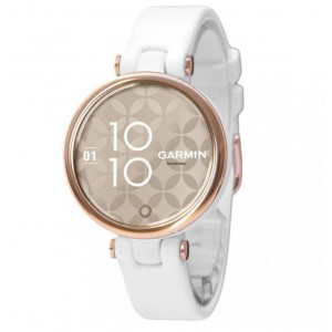 Смарт-часы Garmin Lily Cream Gold Bezel with White Case and Silicone Band (010-02384-10)