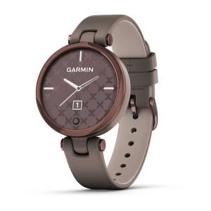 Смарт-часы Garmin Lily Dark Bronze Bezel with Paloma Case and Italian Leather Band (010-02384-B0)