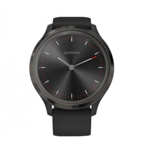Смарт-часы Garmin Vivomove 3 Slate Stainless Steel Bezel w. Black and Silicone B. (010-02239-01)