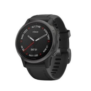 Спортивные часы Garmin Fenix 6S Pro Sapphire Carbon Gray DLC with Black Band (010-02159-25/010-02159-7F)