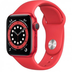 Смарт-часы Apple Watch Series 6 GPS 44mm (PRODUCT)RED Aluminum Case w. (PRODUCT)RED Sport B. (M00M3)