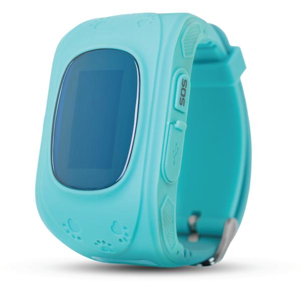 Смарт-часы ERGO GPS Tracker Kid`s K010 blue
