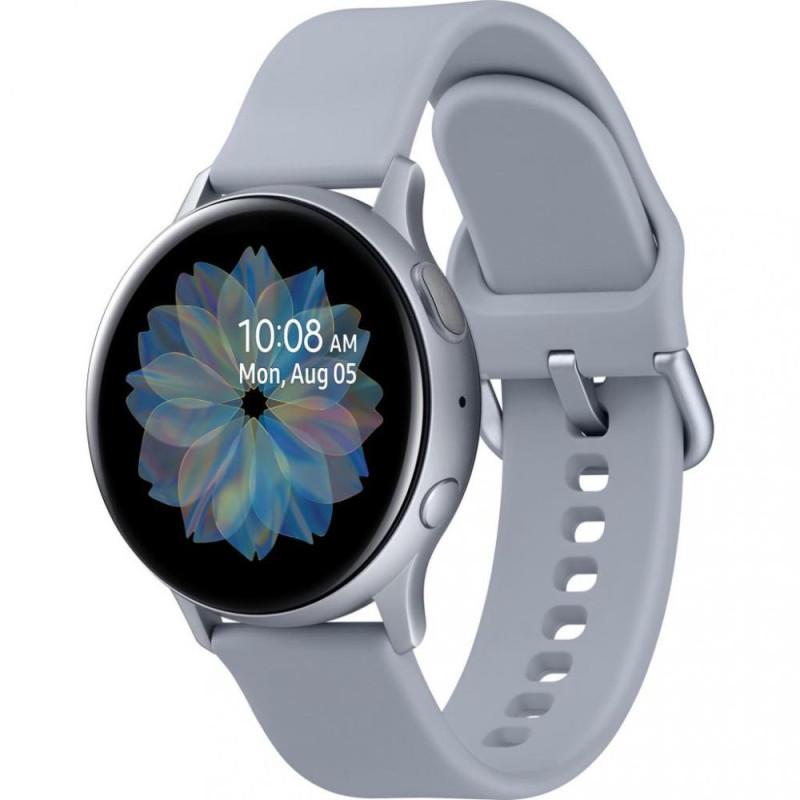 Смарт-часы Samsung Galaxy Watch Active 2 44mm silver aluminium (SM-R820NZSASEK)