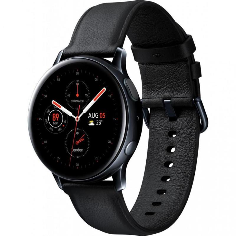Смарт-часы Samsung Galaxy Watch Active 2 44mm black Stainless steel (SM-R820NSKAUYO)
