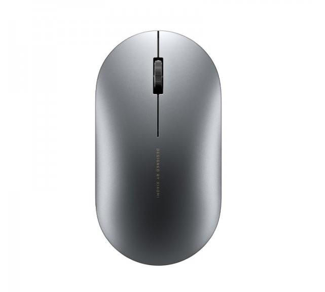 Мышь Xiaomi Mi Elegant Mouse Wireless/Bluetooth Metallic Edition Black (HLK4037CN)