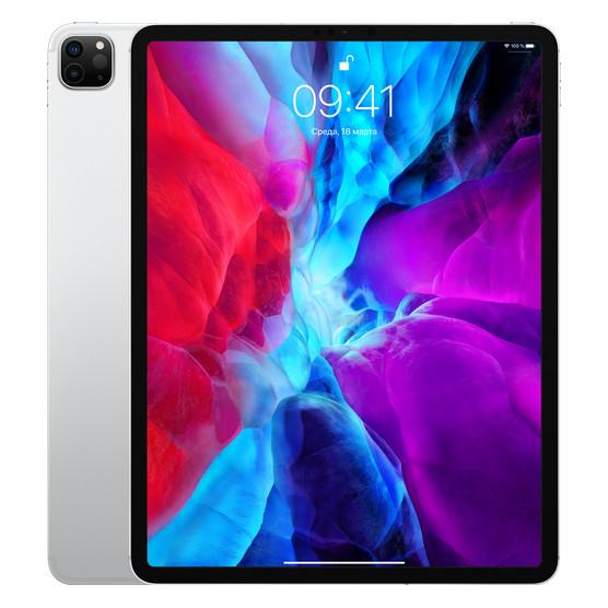 Планшет Apple iPad Pro 12.9 2020 Wi-Fi + Cellular 256GB silver (MXFY2, MXF62)