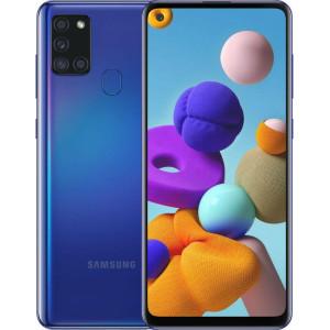 Смартфон Samsung Galaxy A21s 3/32GB blue (SM-A217FZBN) (UA)
