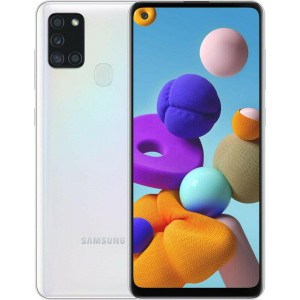 Смартфон Samsung Galaxy A21s 3/32GB white (SM-A217FZWN) (UA)