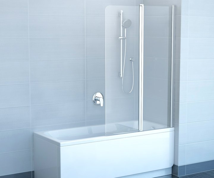 Шторкa для ванны Ravak CVS2-100 L (7QLA0100Z1)
