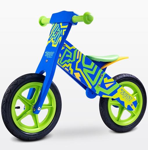 Беговел Caretero Zap blue-green