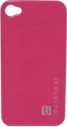 Накладка Borofone Bright surface cover case pink для iPhone 4