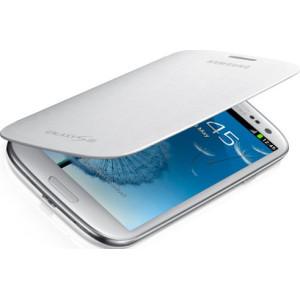 Samsung Flip Cover для Galaxy i9300 S3 white