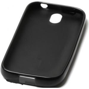 Чехол силиконовый Samsung N7000 black