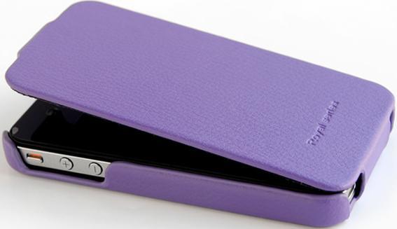 Чехол Hoco Leather Case Duke Advanced II purple для iPhone 4/4S