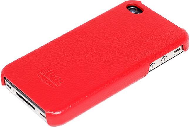 Накладка Hoco Open Face Case для iPhone 4/4S red
