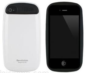 Чехол iPhone iFace Revolution white (пластик)