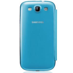 Samsung Flip Cover для Galaxy i9300 S3 blue