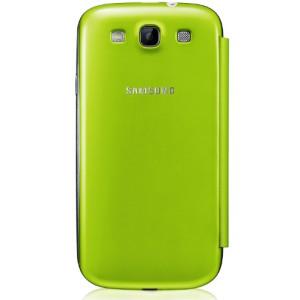Samsung Flip Cover для Galaxy i9300 S3 green