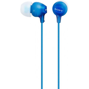 Наушники SONY MDR-EX15LP синий