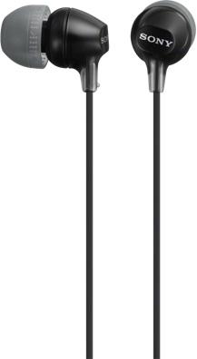 Наушники SONY MDR-EX15AP черный