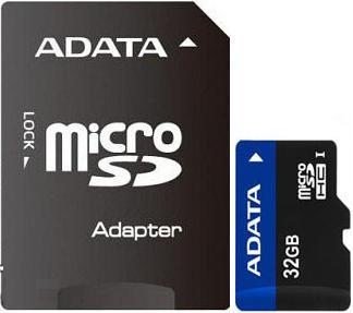 ADATA microSDHC 32Gb (Class 10) + SD adapter
