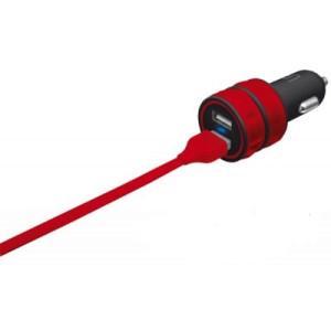 АЗУ Urban Revolt Dual Smart Car Charger 2 USB 1 А red (6224631)