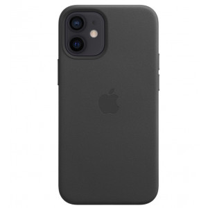 Чехол Leather Case with MagSafe iPhone 12 mini (MTES2FE/A) black