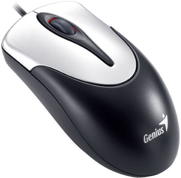 GENIUS NetScroll 100 Optical PS2 black+silver G5